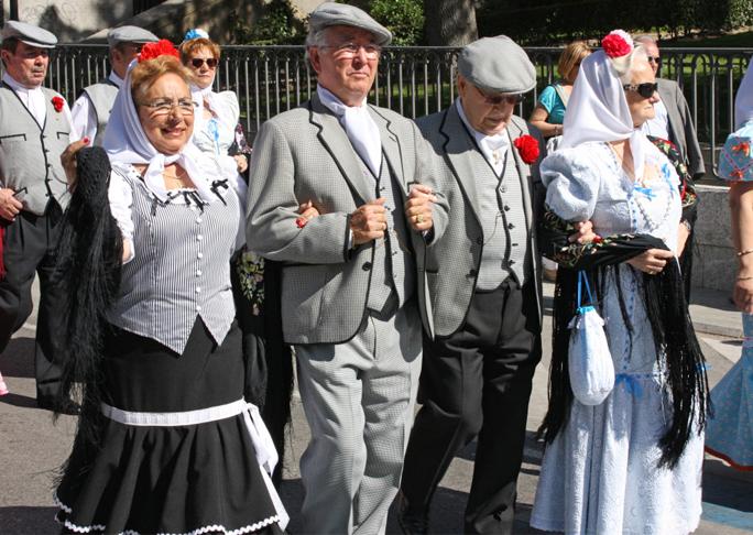 chulapos-San Isidro en Madrid