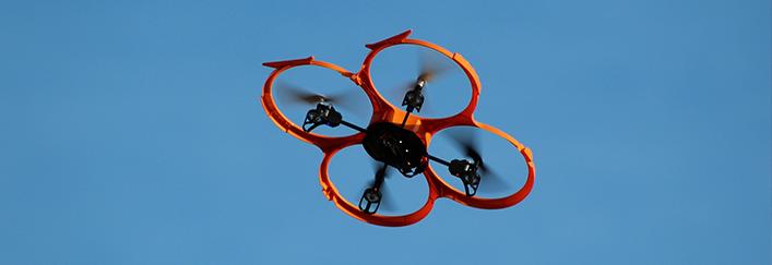 drones en los eventos