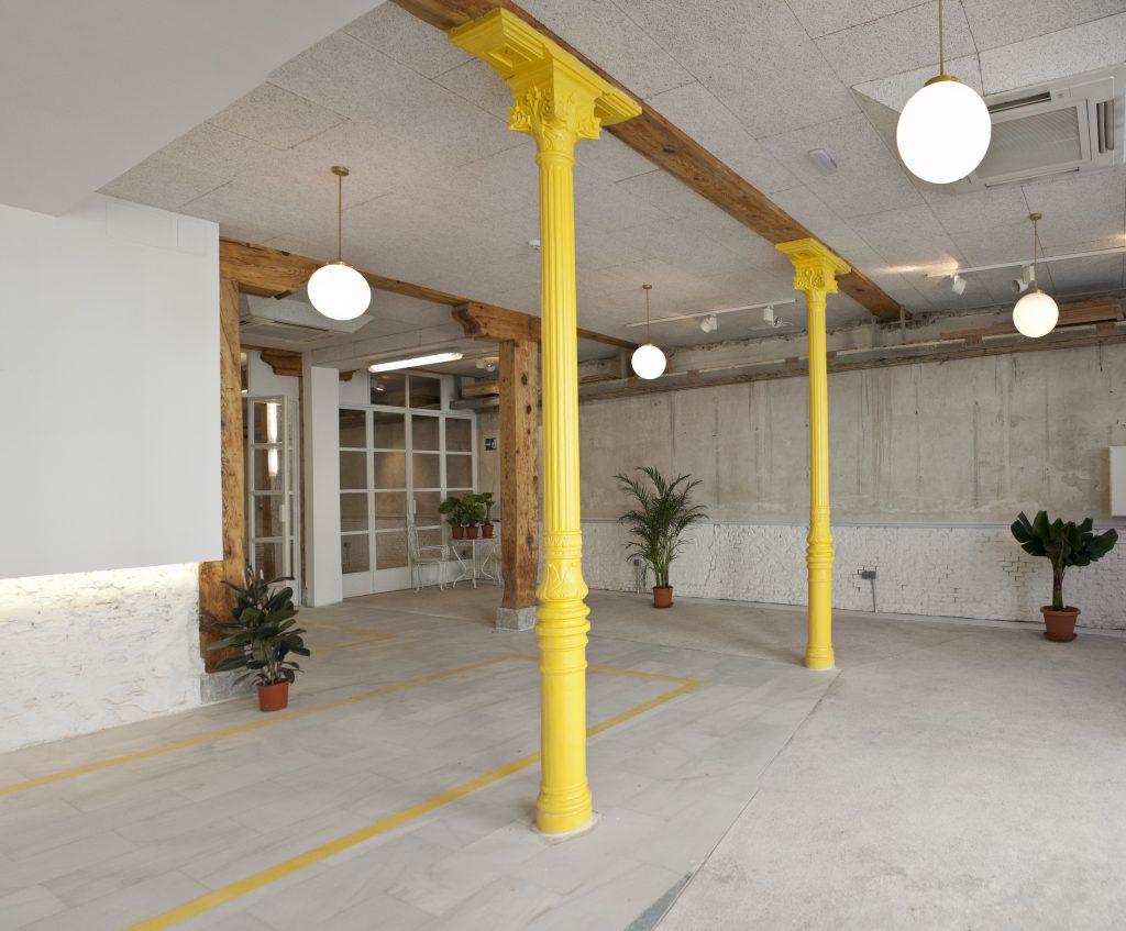 El alquiler de este espacio es ideal para grupos de hasta 100 personas tanto en cocktail como sentados