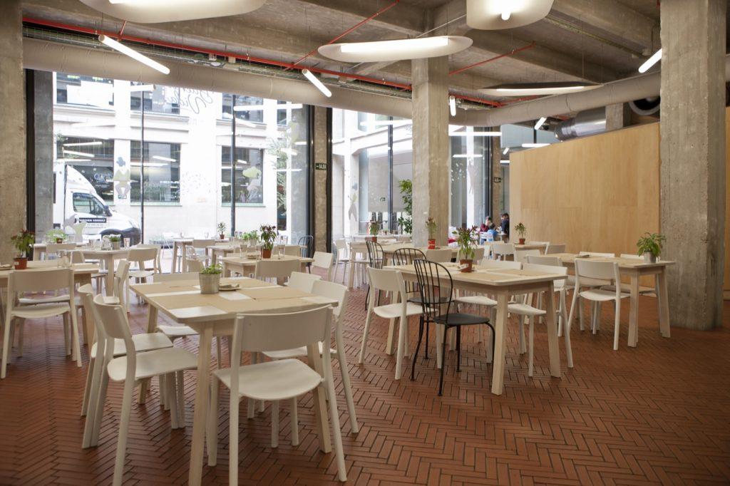 Restaurante de productos ecológicos y naturales en el centro de Madrid para reuniones y eventos