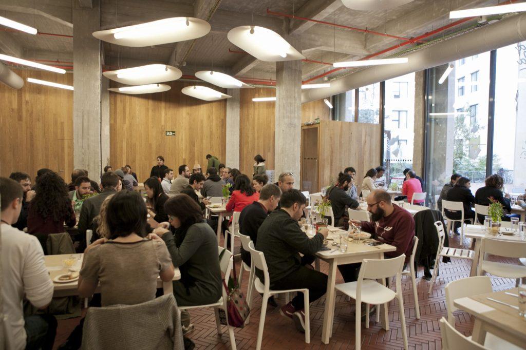 Restaurante situado en Medialab- Prado en pleno Barrio de las Letras en Madrid