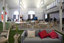 420 m2 de sala para alquilar y realizar tus ruedas de prensa o reuniones en el espacio madrileño El Puente