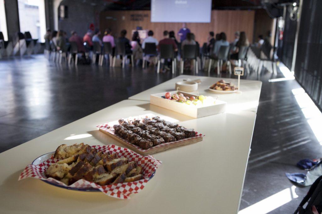 La Buena Vida en Medialab. Catering