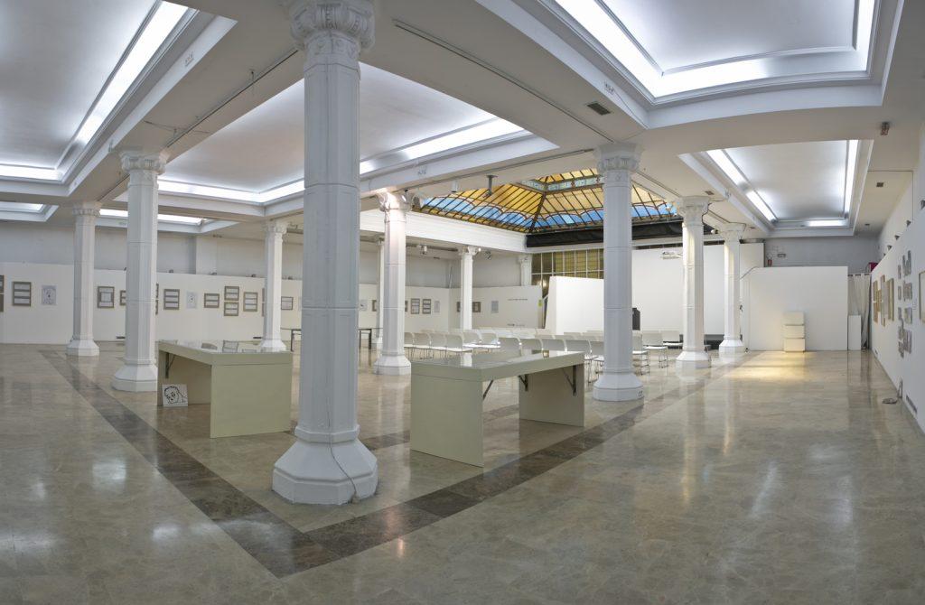 Alquiler de dos salas diferentes en Diario Madrid para eventos de marca y actos de empresa con patio y backstage.